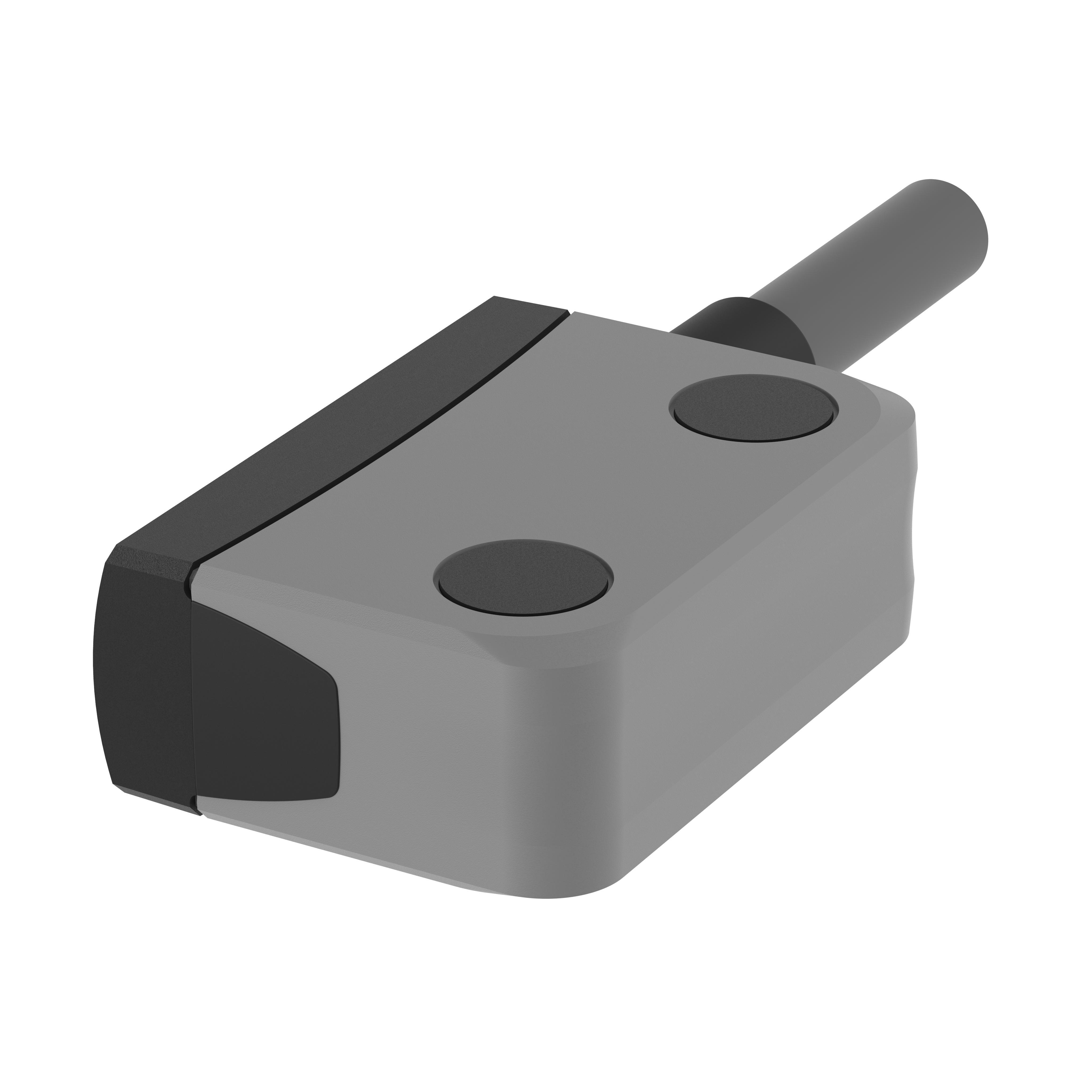 Sicherheitssensor eloProtect M - 153MSK00K1A-5 - magnetisch betätigt - Schließer/Schließer, 5m Kabel