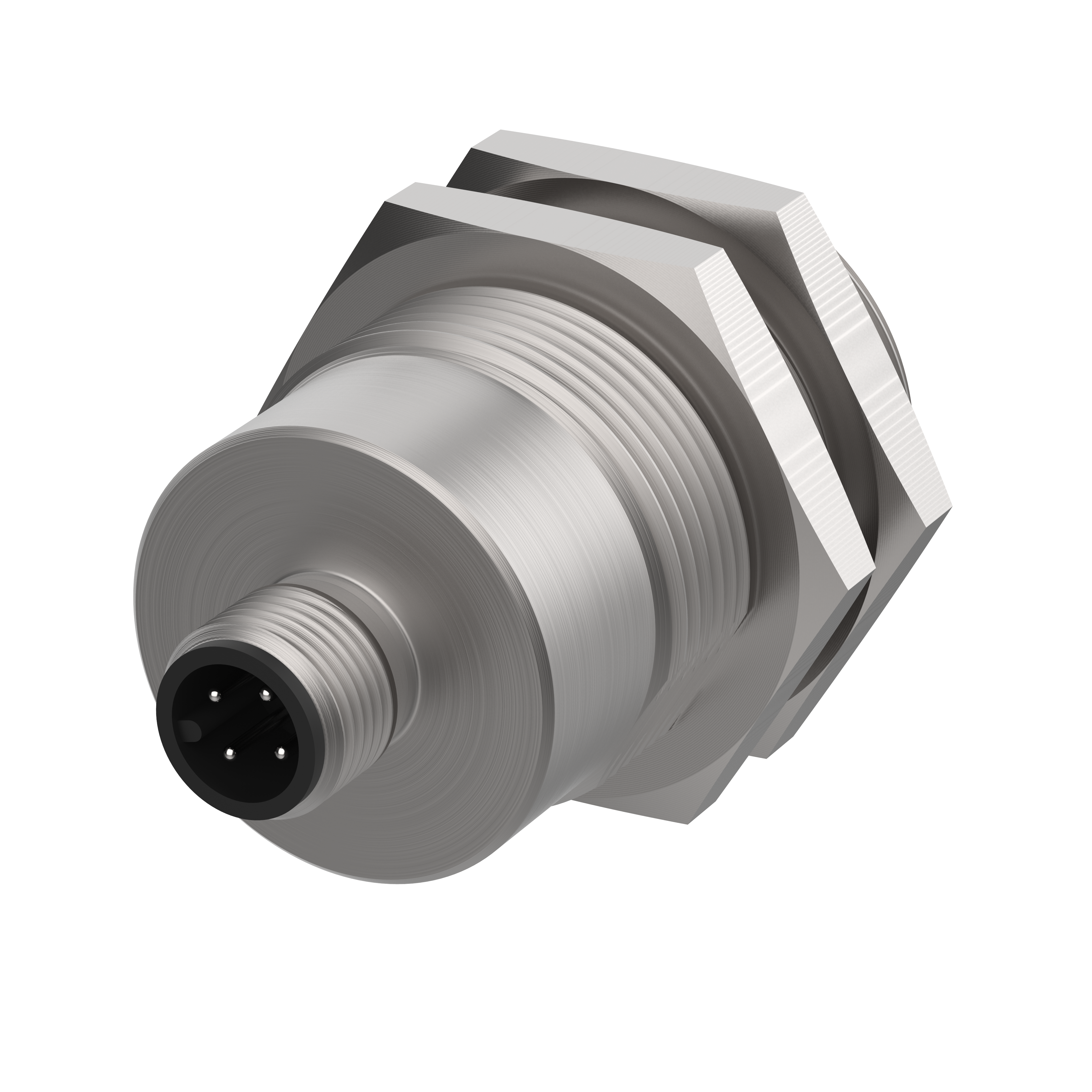 Sicherheitssensor - 171271VY03 - magnetisch betätigt - Schließer/Öffner,  Einbaustecker M12