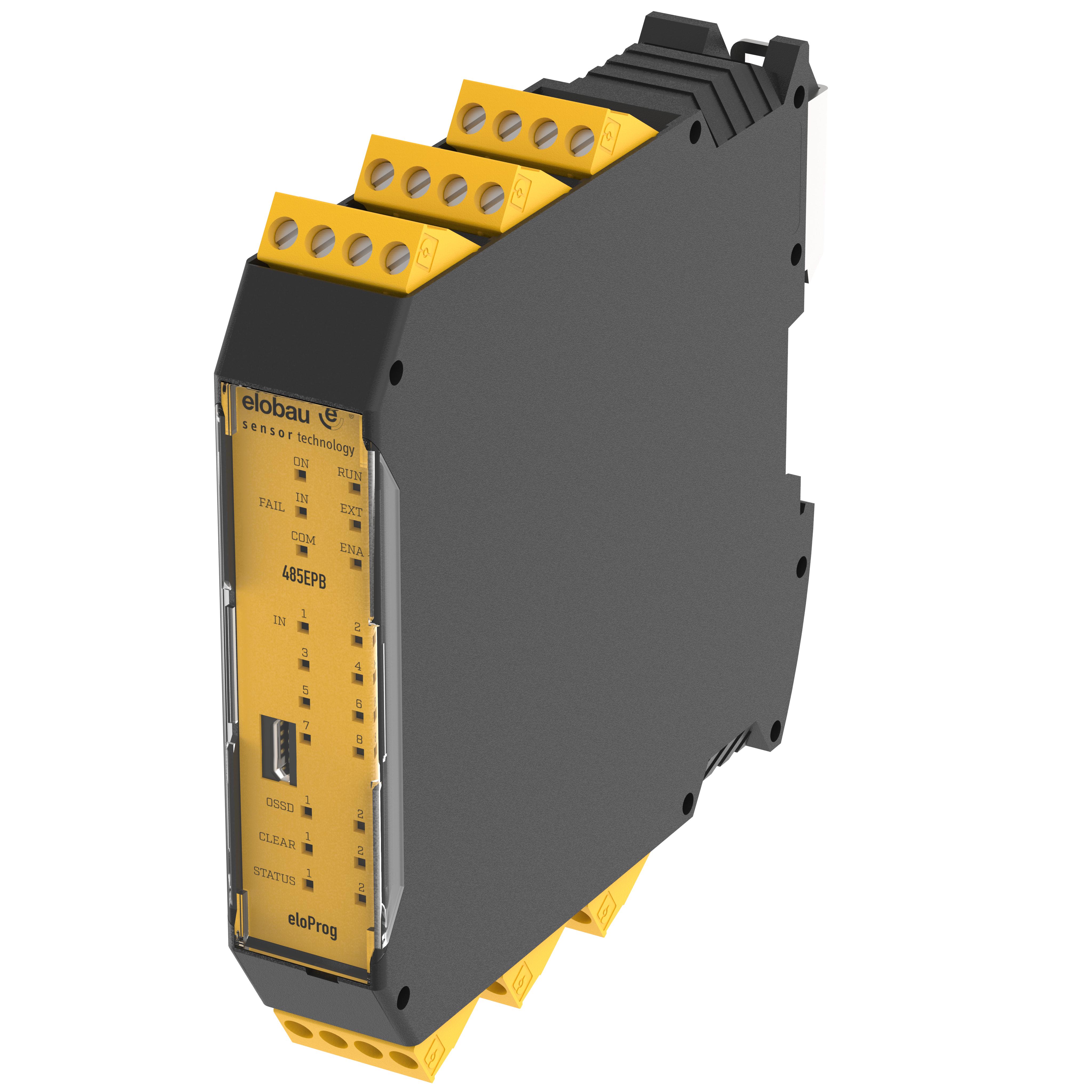 Konfigurierbare Sicherheitssysteme - eloProg Basismodul - 485EPB