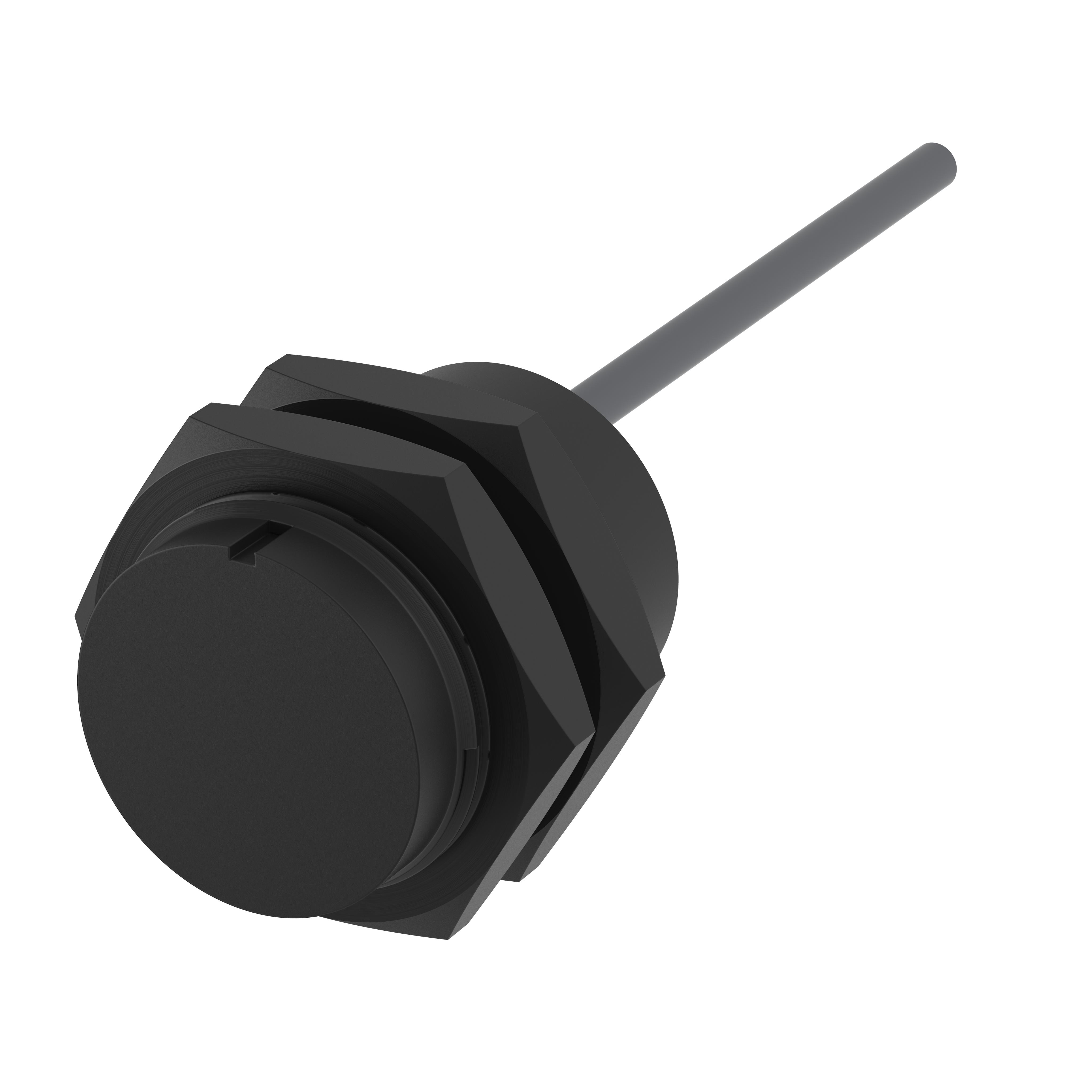 Sicherheitssensor - 17127113 - magnetisch betätigt - Schließer/Öffner, 1m Kabel