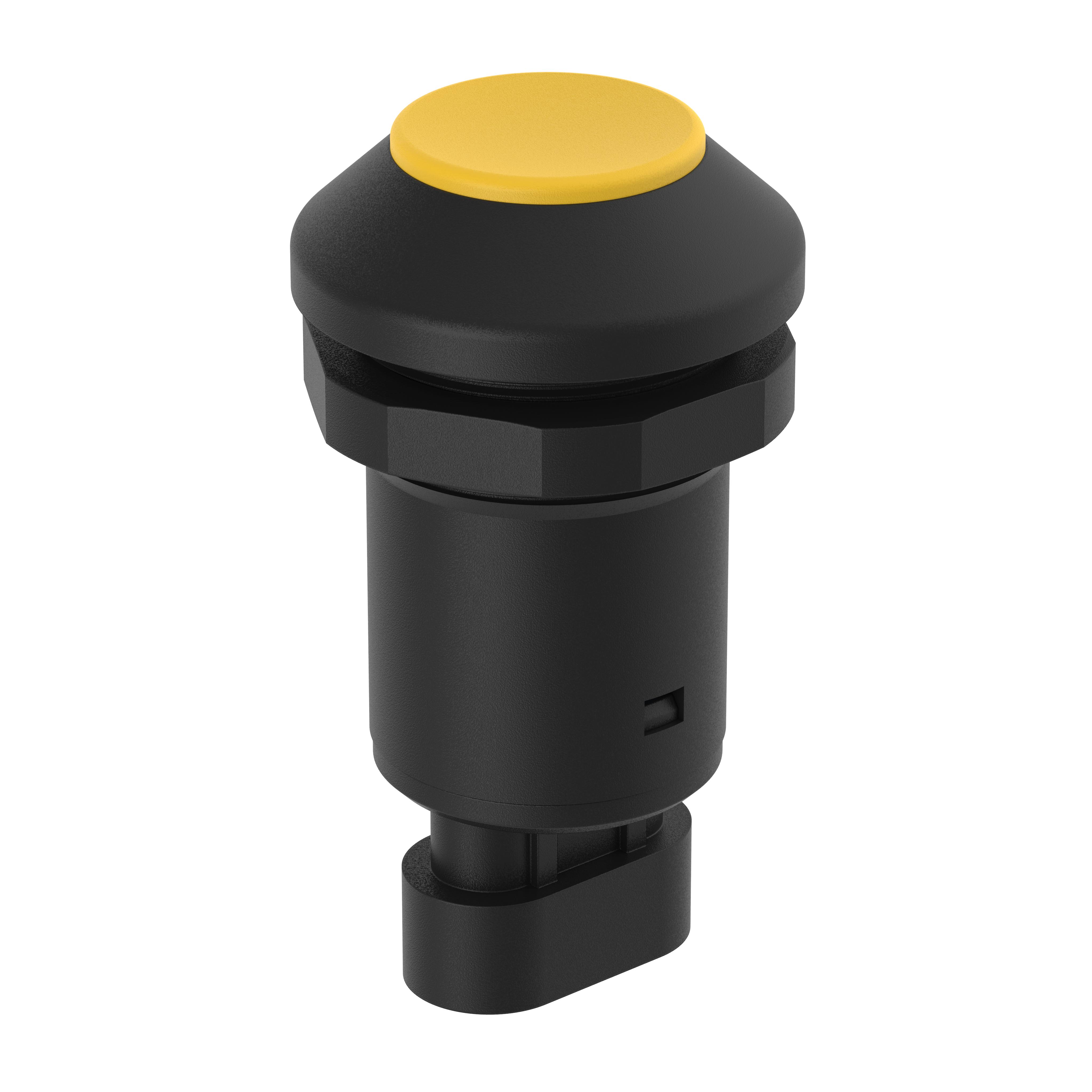 M30-Taste gelb -145000AB21 - AMP Stecker